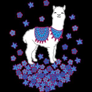 happy Llama flowers