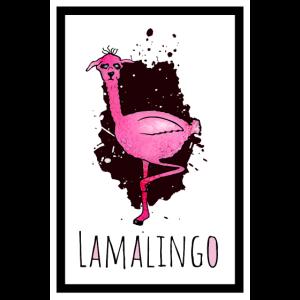 Lamalingo Splash Poster