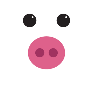 Funny Pig Face Shirt Halloween Shirt