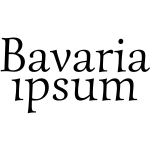 Bavaria ipsum Logo