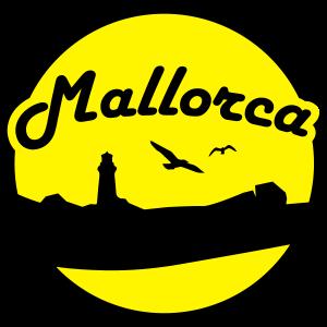 Mallorca Leuchtturm und Vögel