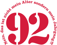 Jahrgang 1990 Geburtstagsshirt: 1992 - Jahrgang 92
