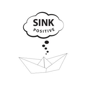 sink positive - think positive - Positiv denken