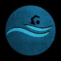 Schwimmer Schwimmen Wellen Geschenk Idee