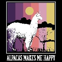 Alpacas makes me happy