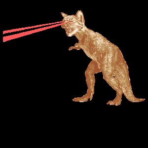 Laser Britische Kurzhaar Dinosaurier Geschenk