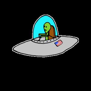 UFO - Alien - Raumschiff