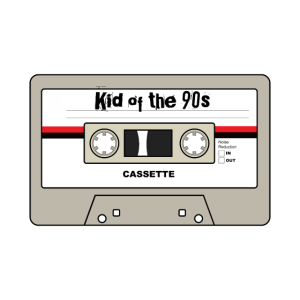 Kid of the 90s - Kassette Vintage Retro