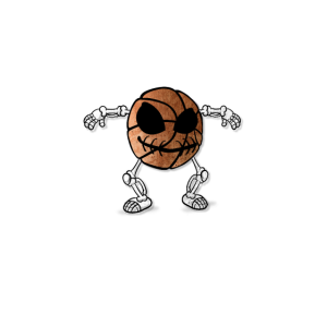 Monster Game white font