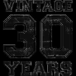 Vintage 30 Years