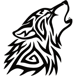 Stammeswolf heulen