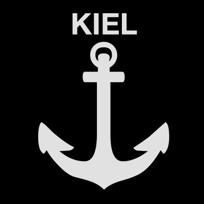 Wappen Kiel Anker - Ahoi Ihr Matrosen.  Endlich gibt es das richtige Tshirtmotiv fuer alle Kieler, Kielerinnen, Kielfans und die es noch werden wollen.  - norddeutsch,Wappen,Maritim,Kiel,Hafen,Anker