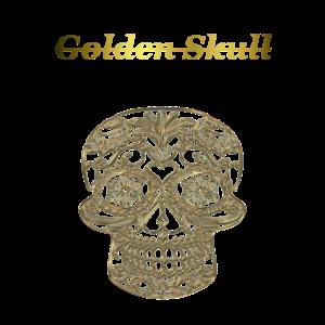 Golden Skull Schädel Gold Geschenkidee