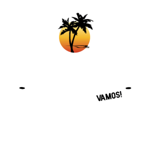 Mallorca Cap und Sonnenbrille in Weiß