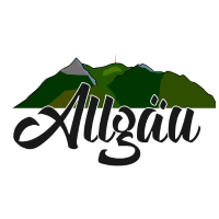 Allgäu Grünten Print, Allgäuer Berge,
