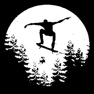 Mond Skateboard Skateboarden Skater Skaten Moon