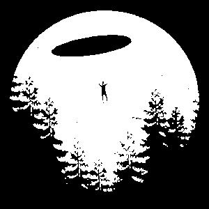 Mond Ufo Alien Aliens Ausserirische Moon T Shirt S
