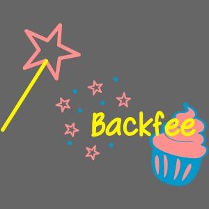 Backfee Schürze Cupcaki
