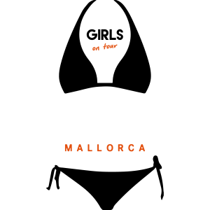 Mädchen auf Tour Mallorca duotone