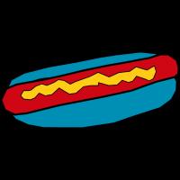 Blausäure Hotdog