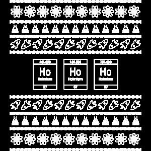 Ugly Christmas Science T-Shirt - Weihnachten Nerd