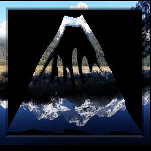 Gebirge Doppelbelichtung Berg Panorama Berge