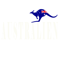 Australien Känguru Flagge Down Under