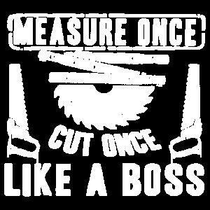 Carpenter - Messen Sie einmal geschnitten wie Chef-Hemd