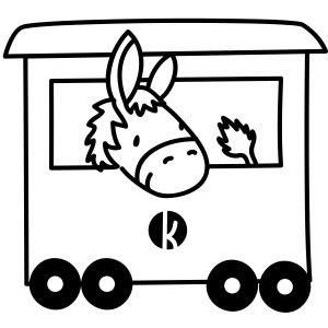 Esel Transport - Donkey Transport