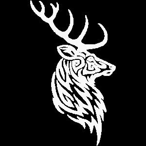 Stammes-Hirsch-Weiß