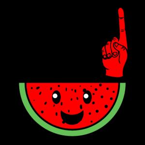 Du bist einer in einer Melone