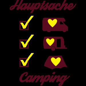Hauptsache Camping