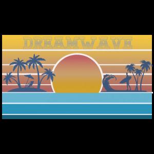 Surfer Urlaub Strand Geschenk