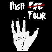 High Five Four - Zombie Hand Halloween Geschenk