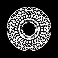 Geometrie Spirituell Mystisch Form Abstrakt Symbol