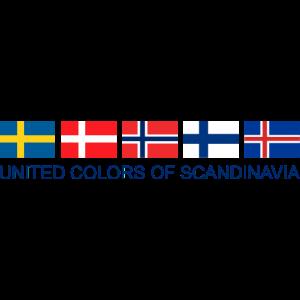 United Colors Of Scandinavia | Skandinavien Flagge