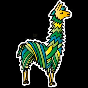 Alpakas- freundliche Wesen