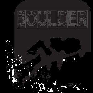 Bouldern Klettern SchwarzWeiss