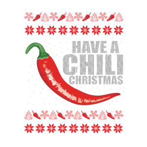 Ich wünsche dir ein Weihnachtsfest mit Chili