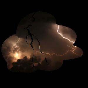 Gewitter Blitz Blitze