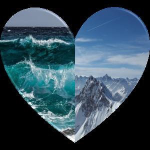 Sea and Summit. - Heart