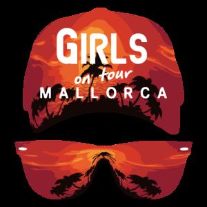 Mallorca Mädchen auf Tour Sonnenuntergang Ausgabe
