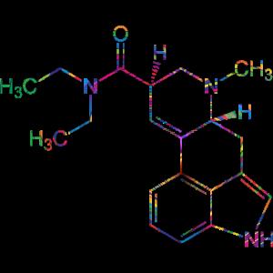 LSD Formel Psychedelic