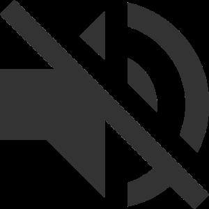 Lautsprecher | Symbol | Schwarz | Geschenkidee