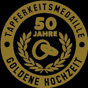 Tapferkeitsmedaille 50 Jahre Goldene Hochzeit