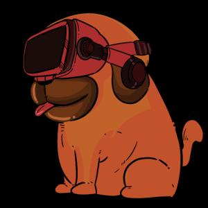 Gaming Pug