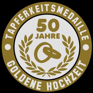 Tapferkeitsmedaille 50 Jahre Goldene Hochzeit 3C
