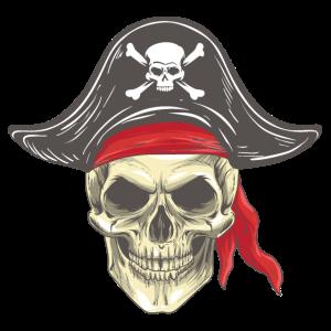 Piraten Totenkopf
