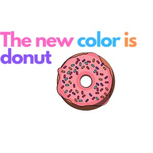 Donut color