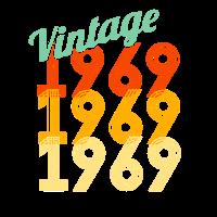 50. Geburtstag Vintage 1969 klassisches Geschenk